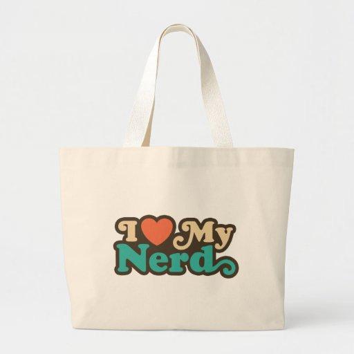 Amo a mi empollón bolsas