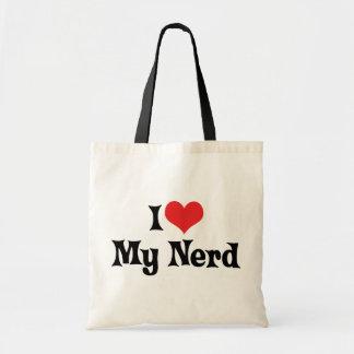 Amo a mi empollón bolsa