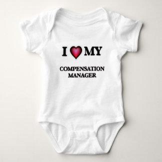 Amo a mi encargado de la remuneración body para bebé