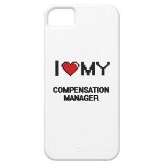 Amo a mi encargado de la remuneración iPhone 5 carcasas