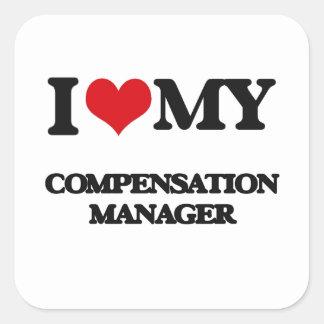 Amo a mi encargado de la remuneración etiqueta