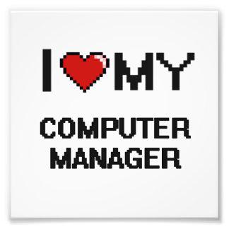Amo a mi encargado de ordenador fotografías