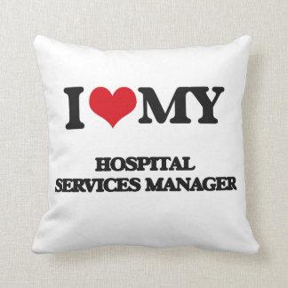 Amo a mi encargado de servicios del hospital almohada
