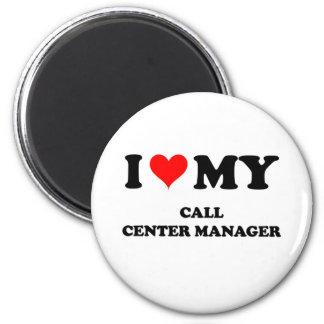 Amo a mi encargado del centro de atención telefóni iman para frigorífico