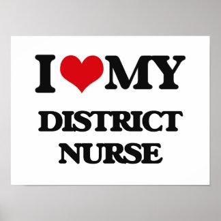 Amo a mi enfermera del distrito poster