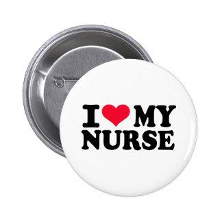 Amo a mi enfermera pin