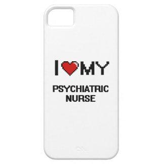 Amo a mi enfermera psiquiátrica iPhone 5 funda
