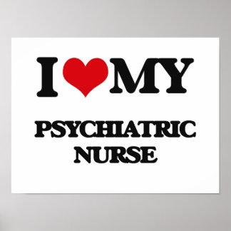 Amo a mi enfermera psiquiátrica poster