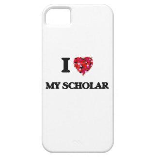 Amo a mi escolar iPhone 5 fundas