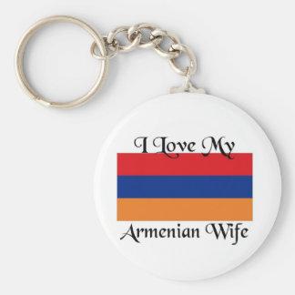 Amo a mi esposa armenia llavero