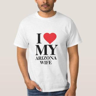 Amo a mi esposa de Arizona Playera
