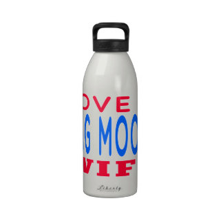 Amo a mi esposa de la gama del MOO de Chungkin Botella De Beber