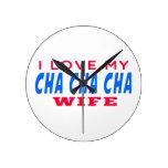 Amo a mi esposa del cha del cha de Cha Reloj