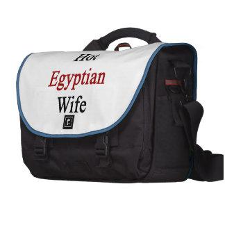 Amo a mi esposa egipcia caliente bolsas de portátil