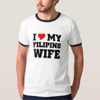 Amo a mi esposa filipina playera