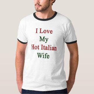 Amo a mi esposa italiana caliente playera