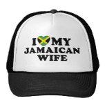 Amo a mi esposa jamaicana gorra