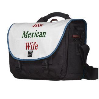 Amo a mi esposa mexicana caliente bolsas de portátil