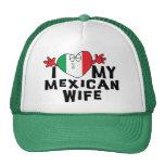 Amo a mi esposa mexicana gorro