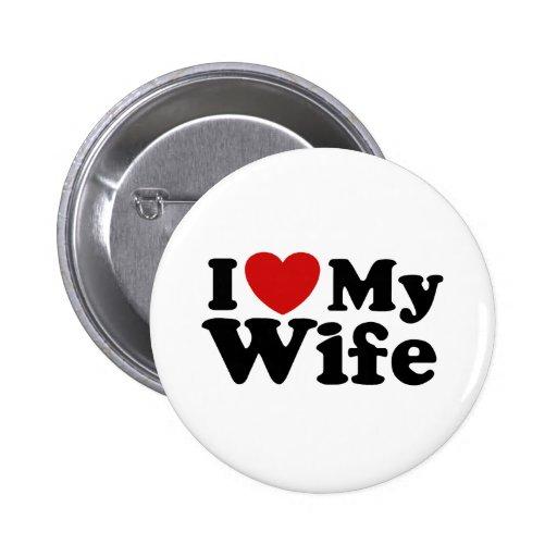Amo a mi esposa pins
