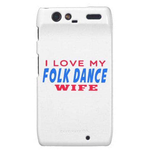 Amo a mi esposa popular droid RAZR carcasa