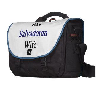 Amo a mi esposa salvadoreña caliente bolsas de ordenador