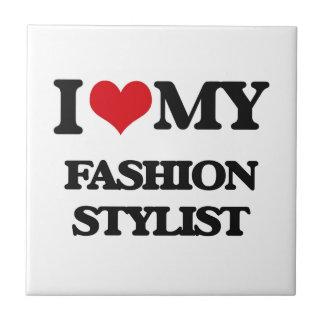 Amo a mi estilista de la moda teja