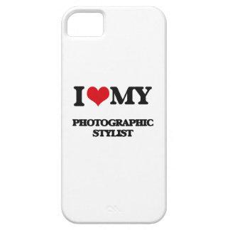 Amo a mi estilista fotográfico iPhone 5 carcasas