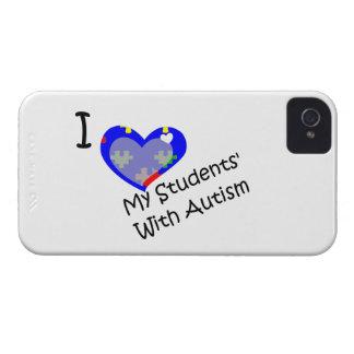 Amo a mi estudiante con la zarzamora del autismo i