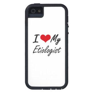 Amo a mi Etiologist iPhone 5 Carcasas