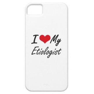 Amo a mi Etiologist iPhone 5 Funda