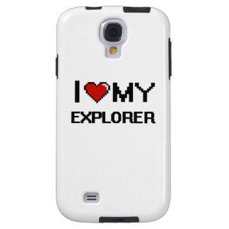 Amo a mi explorador funda para galaxy s4
