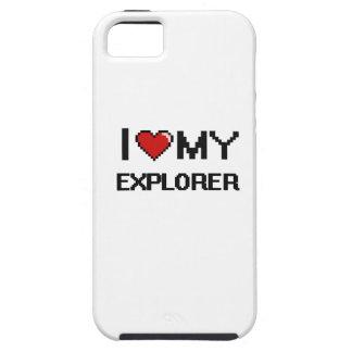 Amo a mi explorador iPhone 5 fundas