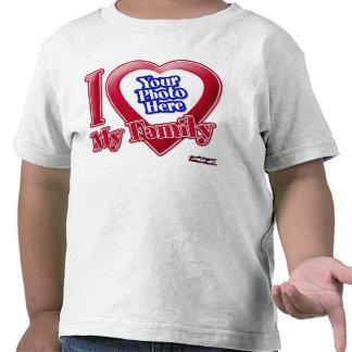 Amo a mi familia - foto camiseta