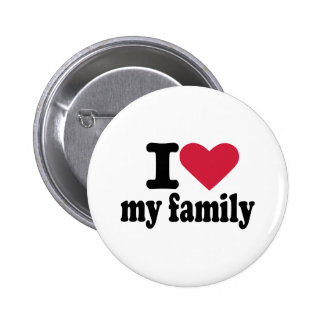 Amo a mi familia pin redondo 5 cm