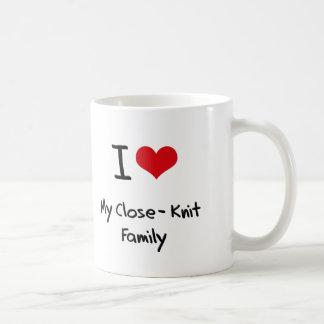 Amo a mi familia unida taza