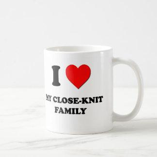 Amo a mi familia unida tazas