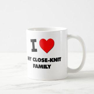 Amo a mi familia unida taza de café