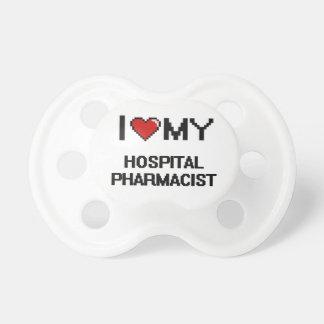 Amo a mi farmacéutico del hospital chupetes para bebes