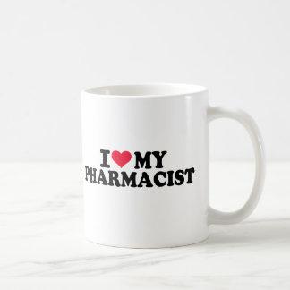Amo a mi farmacéutico taza clásica
