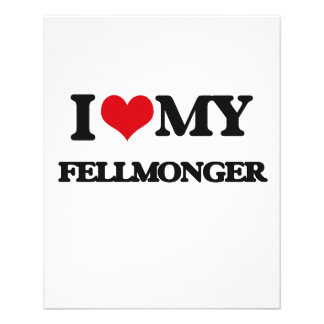 Amo a mi Fellmonger Tarjetones