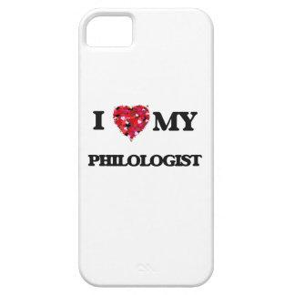 Amo a mi filólogo iPhone 5 Case-Mate cobertura