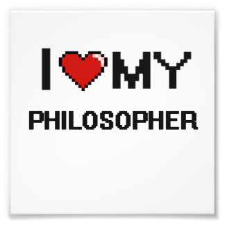 Amo a mi filósofo impresiones fotograficas