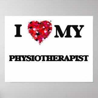 Amo a mi fisioterapeuta póster
