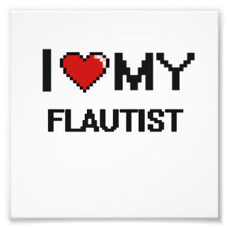 Amo a mi flautista fotografías
