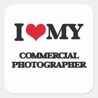Amo a mi fotógrafo comercial pegatinas