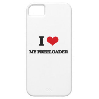 Amo a mi Freeloader iPhone 5 Case-Mate Protectores