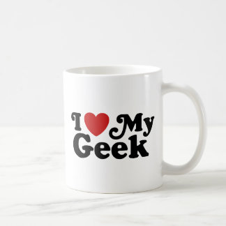 Amo a mi friki taza clásica