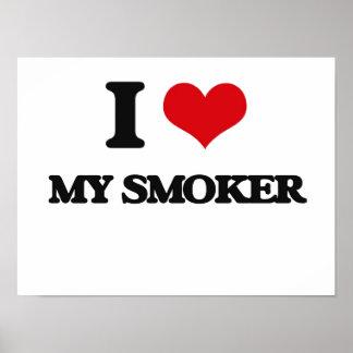 Amo a mi fumador posters