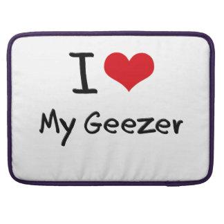 Amo a mi Geezer Fundas Macbook Pro